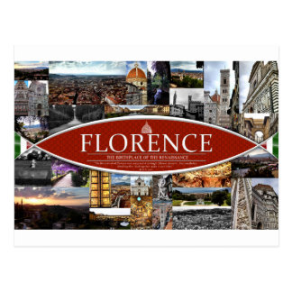 Cartão de Florença Cartão Postal