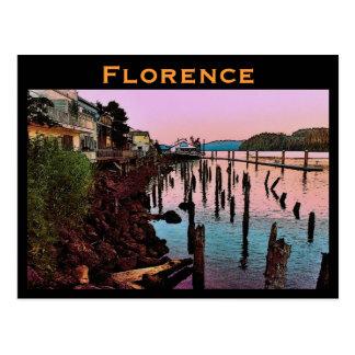 Cartão de Florença (OU) Cartão Postal
