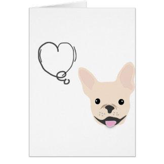 Cartão de Frenchie