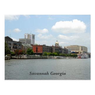 Cartão de Geórgia do savana Cartão Postal