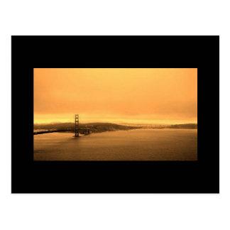 Cartão de golden gate bridge cartões postais