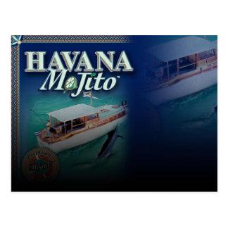 Cartão de Havana Mojito