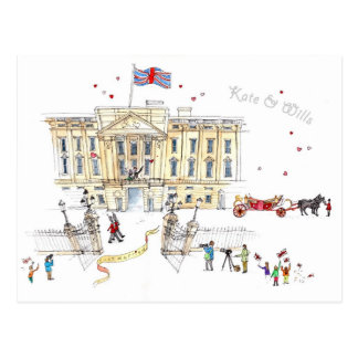 Cartão de Kate comemorativo & de vontades Cartão Postal