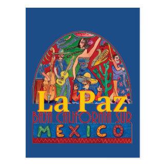 Cartão de LA PAZ México Cartão Postal