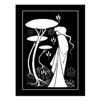 Cartão de LeFay do Sorceress de Beardsley