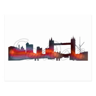 Cartão de Londres Cartão Postal