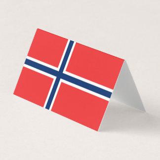 Cartão De Mesa Bandeira de Noruega