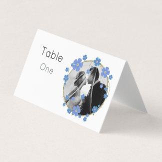 Cartão De Mesa Noivos