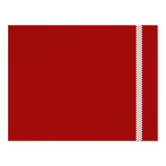 Cartão de Mitzvah RSVP do bar da estrela de Convite 10.79 X 13.97cm