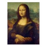 Cartão de Mona Lisa Cartao Postal