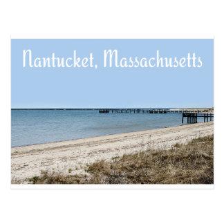 Cartão de Nantucket Massachusetts Cape Cod