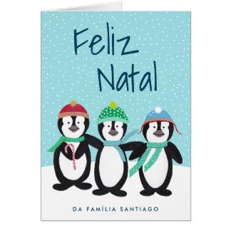Cartão de Natal Cartão