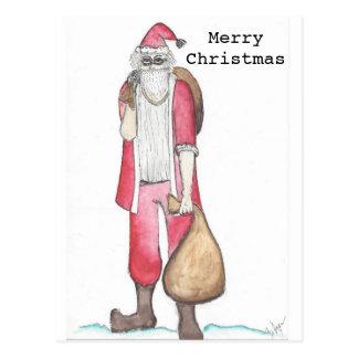 Cartão de Natal Cartão Postal