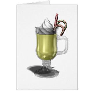 Cartão de Natal da gemada