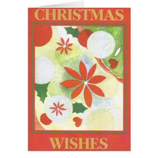 Cartão de Natal de Christingle