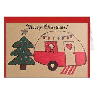Cartão de Natal do campista