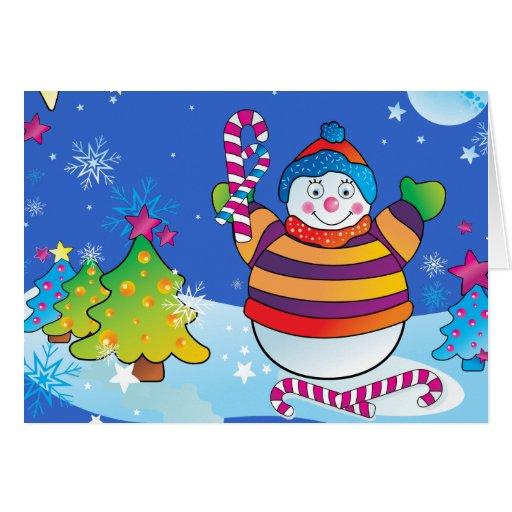 Cartão de Natal dos miúdos - boas festas