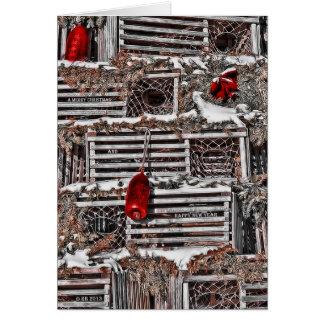 Cartão de Natal festivo da mistura