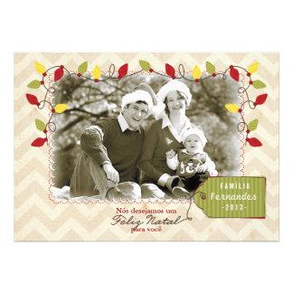 Cartão de Natal foto Custom Announcement