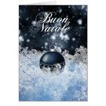 Cartão de Natal italiano - Buon Natale e Felice An