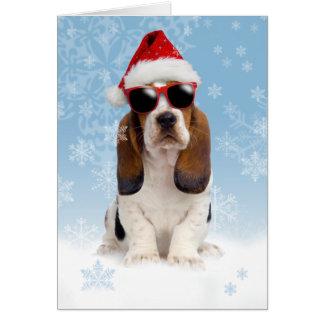 Cartão de Natal legal de Yule