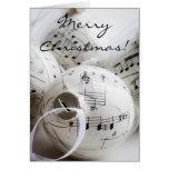 Cartão de Natal musical