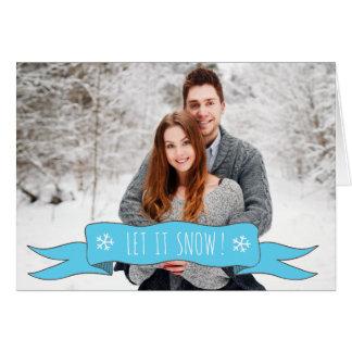 Cartão de Natal personalizado - adicione sua foto!