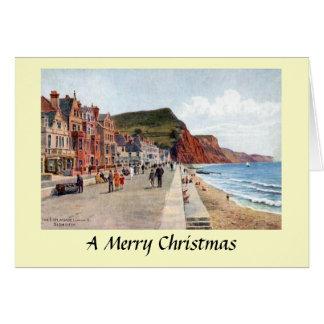 Cartão de Natal - Sidmouth, Devon