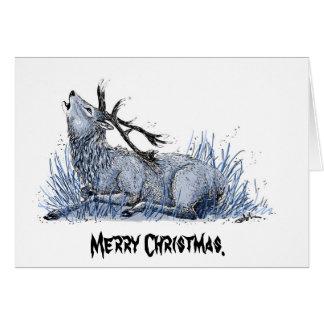 Cartão de Natal Un-Festivo