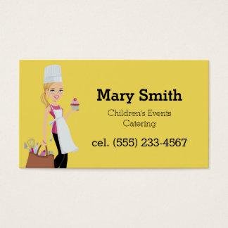 Cartão de negócios brilhante do planejador do