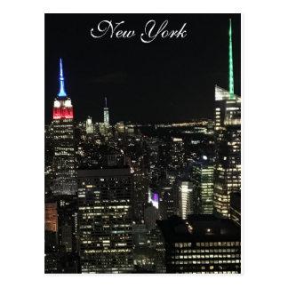 Cartão de New York Cartão Postal