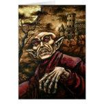 Cartão de Nosferatu o Dia das Bruxas