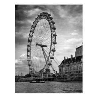 """Cartão de """"olho Londres """""""