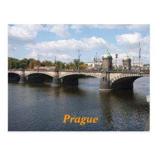cartão de Praga Cartão Postal