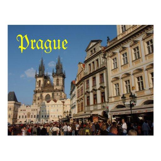 Cartão de Praga Cartões Postais