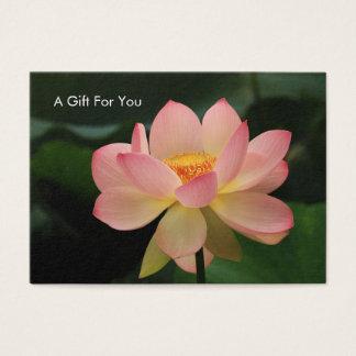 Cartão de presente do terapeuta da massagem da