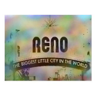 Cartão de Reno Nevada