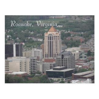 Cartão de Roanoke, Virgínia