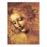 Cartão de Scapigliata do La de da Vinci Cartão Postal