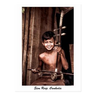 Cartão de Siem Reap, Cambodia