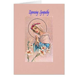 Cartão de simpatia católico