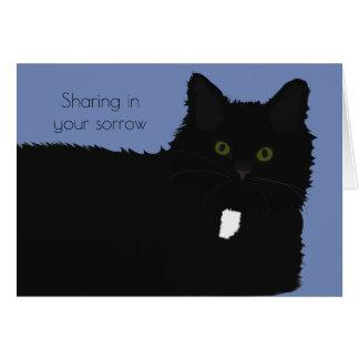 Cartão de simpatia longo do animal de estimação do