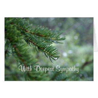 Cartão de simpatia verde