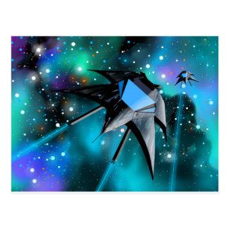 Cartão de Starfighter do Scifi