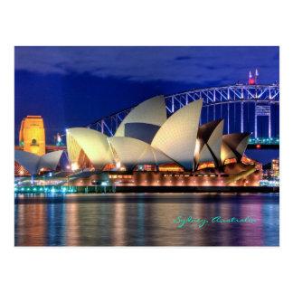 Cartão de Sydney, Austrália Cartao Postal
