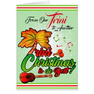 Cartão De um Trini a outro - Natal