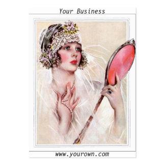 Cartão de visita 2 do negócio do salão de beleza