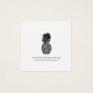 Cartão de visita - abacaxi