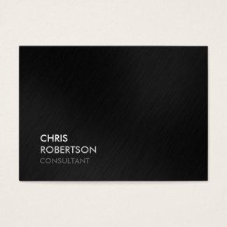 Cartão de visita atrativo cinzento na moda carnudo