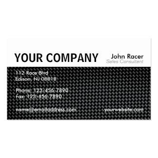 Cartão de visita automotriz